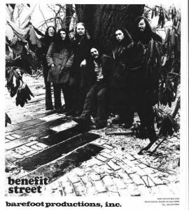 Benefit Street, promotional photo, 1970