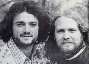 Jon Gailmor & Rob Carlson, Polydor promotional photo, 1974