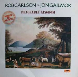 Carlson & Gailmor Polydor LP, 1974