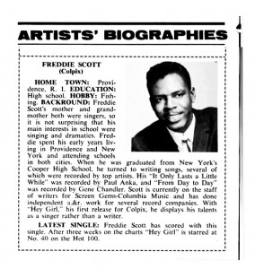 Freddie's Billboard spotlight bio