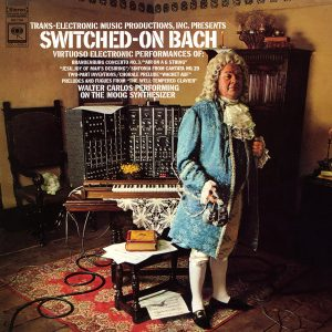 SWITCHED ON BACH FIRST PRESSING
