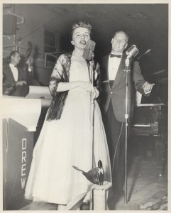 Carol Vann and Ed Drew, 1954