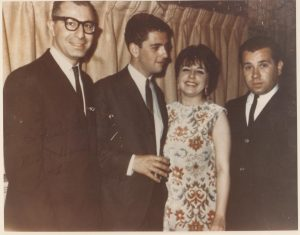 Bob Petteruti, Mike Renzi, Carol Sloane & Artie Cabral, The Kings & Queens, Pawtucket, Rhode Island, 1963