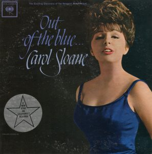 CAROL SLOANE OUT OF THE BLUE LP