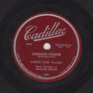 "Carol's first recordings Note that her stage name ""Vann"" is misspelled on the label!"