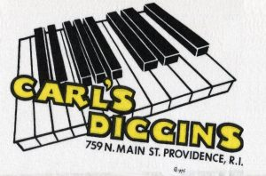 Logo for the final North Main Street location of the shop.